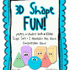 3D Shape Fun - Games, Printables and Much More!