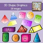 3D Shape Graphics {Personal/Commercial Use}