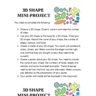 3D Shape Mini-Project