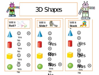 3D Shape Test and Play