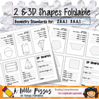 3D Shapes Foldable Organizer