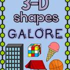 3D Shapes Galore