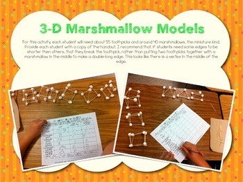 3D Shapes Marshmallow Models Freebie