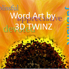 3D TWINZ: Commercial Word ART TpT Merchant Resource Pack 3