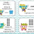 3.OA.1 - Multiplication Review Games