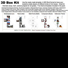 3D Box Kit Projects