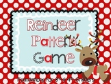 3rd & 4th Grade Reindeer Pattern Center Game