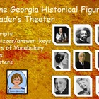 3rd Grade All Nine Historical Figures for GPS:  Reader'sTh