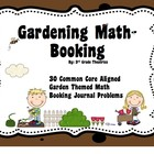 3rd Grade Common Core Aligned Garden Theme Math Booking