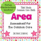 3rd Grade Common Core Area Assessment