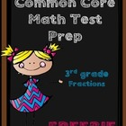 3rd Grade Common Core Assessment - Fractions FREEBIE