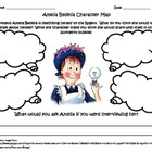 3rd Grade Common Core Character Map: Amelia Bedelia