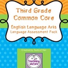 3rd Grade - Common Core ELA Language Assessments