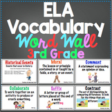 3rd Grade Common Core ELA Ultimate Vocabulary Resource