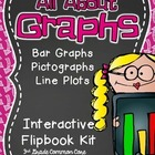 3rd Grade Common Core- Graphs Interactive Flipbook-Activit