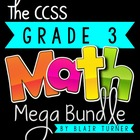 3rd Grade Common Core MATH MEGA BUNDLE {A Year's Worth of