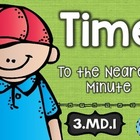 3rd Grade Common Core MD.1:Time Nearest Minute: Math Tasks
