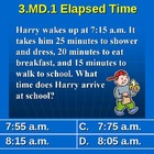 3rd Grade Common Core Math 3 MD.1 Elapsed Time Word Proble