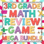 3rd Grade Common Core Math Review Game Mega Bundle (All Do