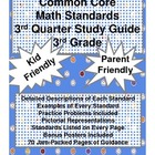 3rd Grade Common Core Math Study Guide - 3rd 9 Weeks Standards