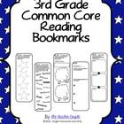 3rd Grade Common Core Reading Bookmarks
