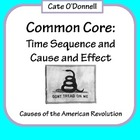 3rd Grade Common Core: Time Sequencing and Cause and Effec