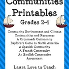 3rd Grade Communities Packet