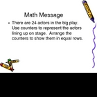 3rd Grade Everyday Math Lesson for 4.2
