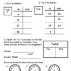 3rd Grade Everyday Math Unit 2 Review