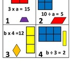 3rd Grade Math Calendar - Area/Perimeter, Missing Factors,