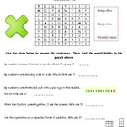 3rd Grade Math Word Search
