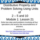 3rd Grade NYS Common Core Math Module 1 Lesson 21
