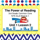 Module 1 Unit 1 Lesson 2 Powerpoint Lesson for the NYS ELA
