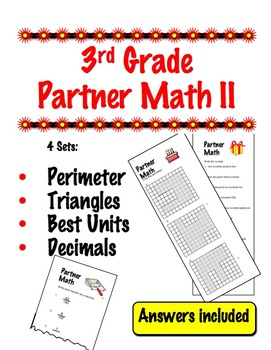 3rd Grade Partner Math II - Cooperative Learning