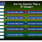 3rd Grade Paul Revere and Map Skills Review Game