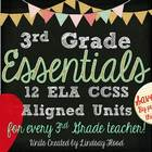 3rd Grade Reading Essentials: 12 3rd Grade ELA Units {Bundled}