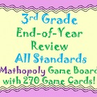 3rd Grade Review All Standards in Math Common Core Test Pr