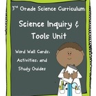 3rd Grade Science Inquiry and Tools Unit {GPS Aligned}