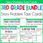 3rd Grade Story Problems Bundle
