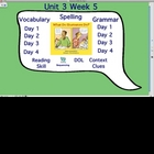 3rd Grade Treasures 3.5 ActivStudio Flip Chart