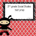 3rd grade Social Studies test prep review PowerPoint game