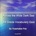 3rd grade, Theme 5 - Voyagers, Vocabulary Quizzes