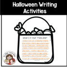 4 Halloween Writing Activities