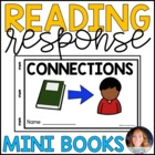 Reading Response MiniBooks {connections, predictions, ques