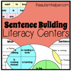 4 Sentence Building Literacy Centers for Early Childhood o