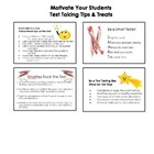 4 Test Taking Tips Cards {Motivating Treats for Standardiz