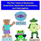 4 Types of Sentences Imperative Declarative Exclamatory In