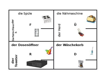 4 by 4 Appliances in German