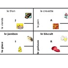 4 by 4 Nourriture (Food in French)