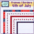 4 of July borders and backgrounds